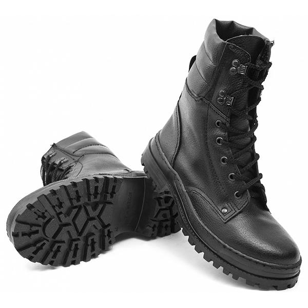 Ботинки (нат.шерсть) ОМОН Хром ТЭП