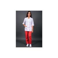Блуза женская Классик (тк.ТиСи), белый