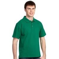 Рубашка-Поло (тк.Трикотаж,205), т.зеленый